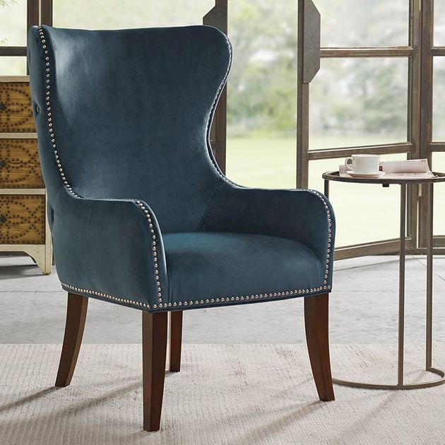 What Is An Accent Chair Used For: Tufted Back Accent Chair