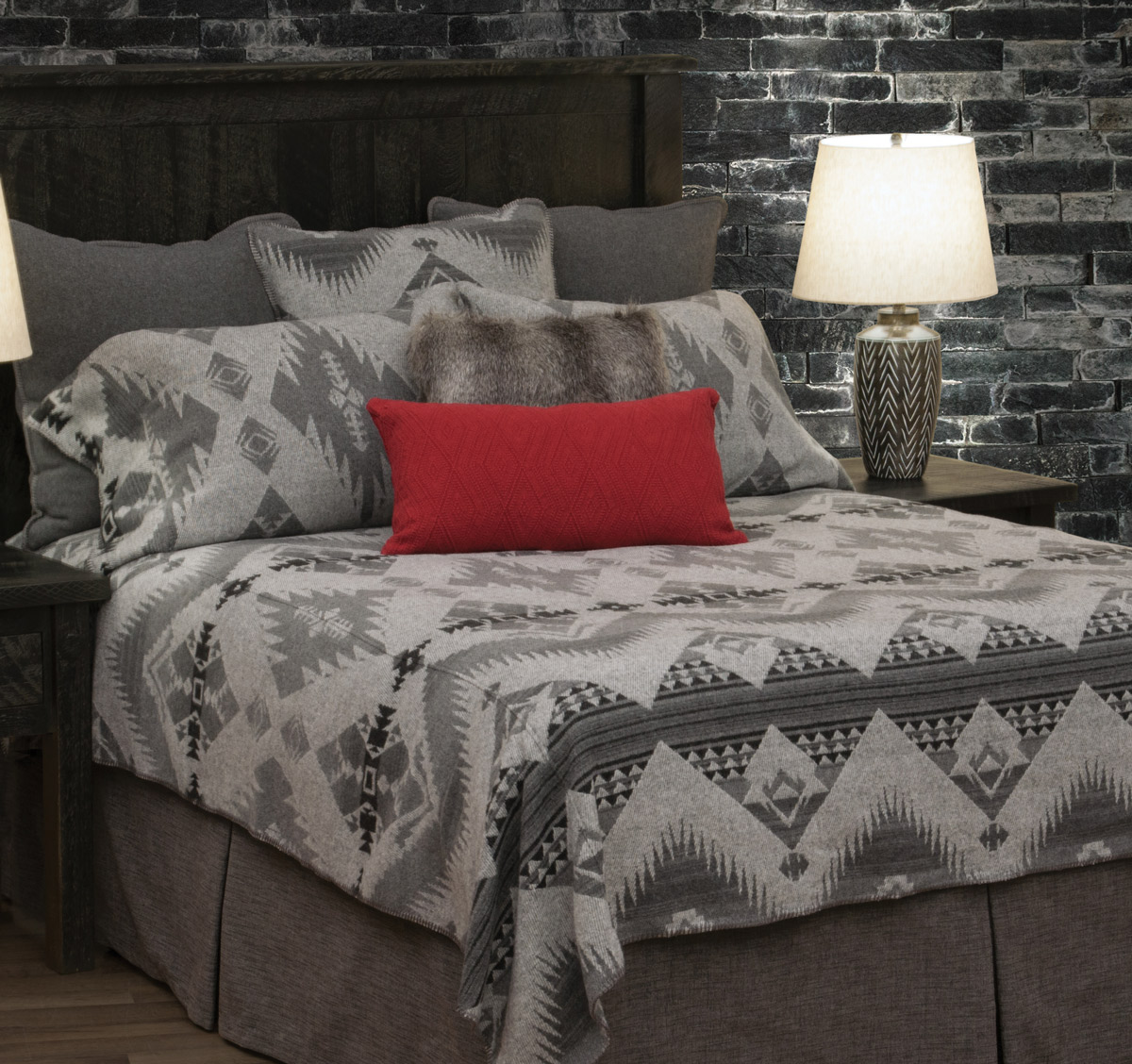 Geronimo Haze Basic Bed Set - Cal King