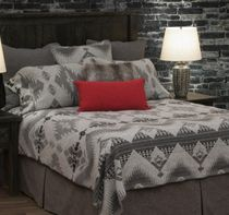 Geronimo Haze Basic Bed Set - Queen