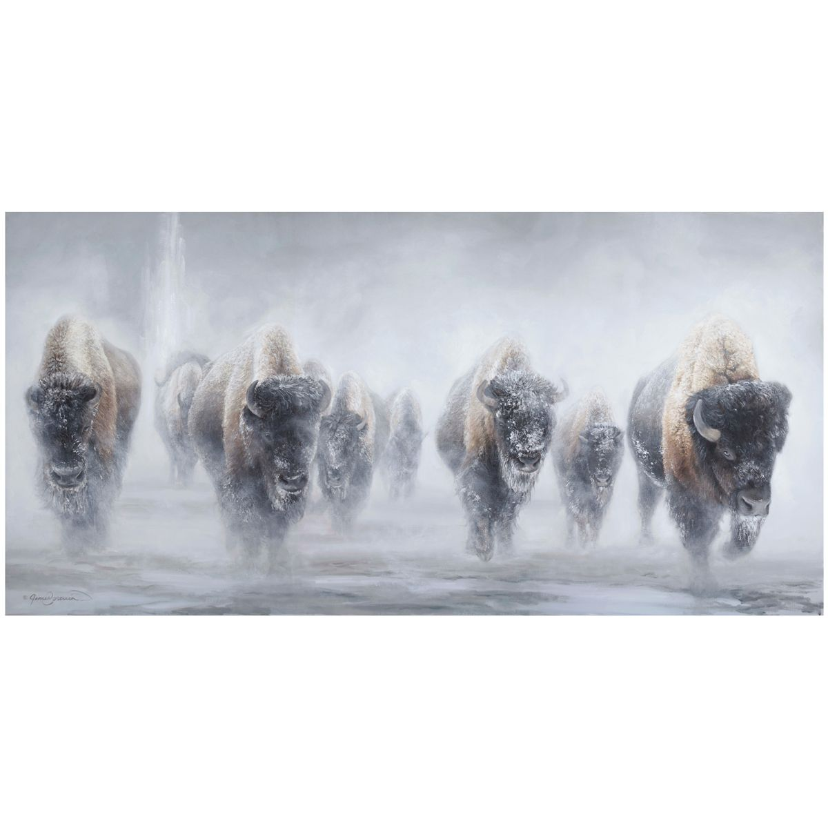 Giants in the Mist II Limited Edition Print