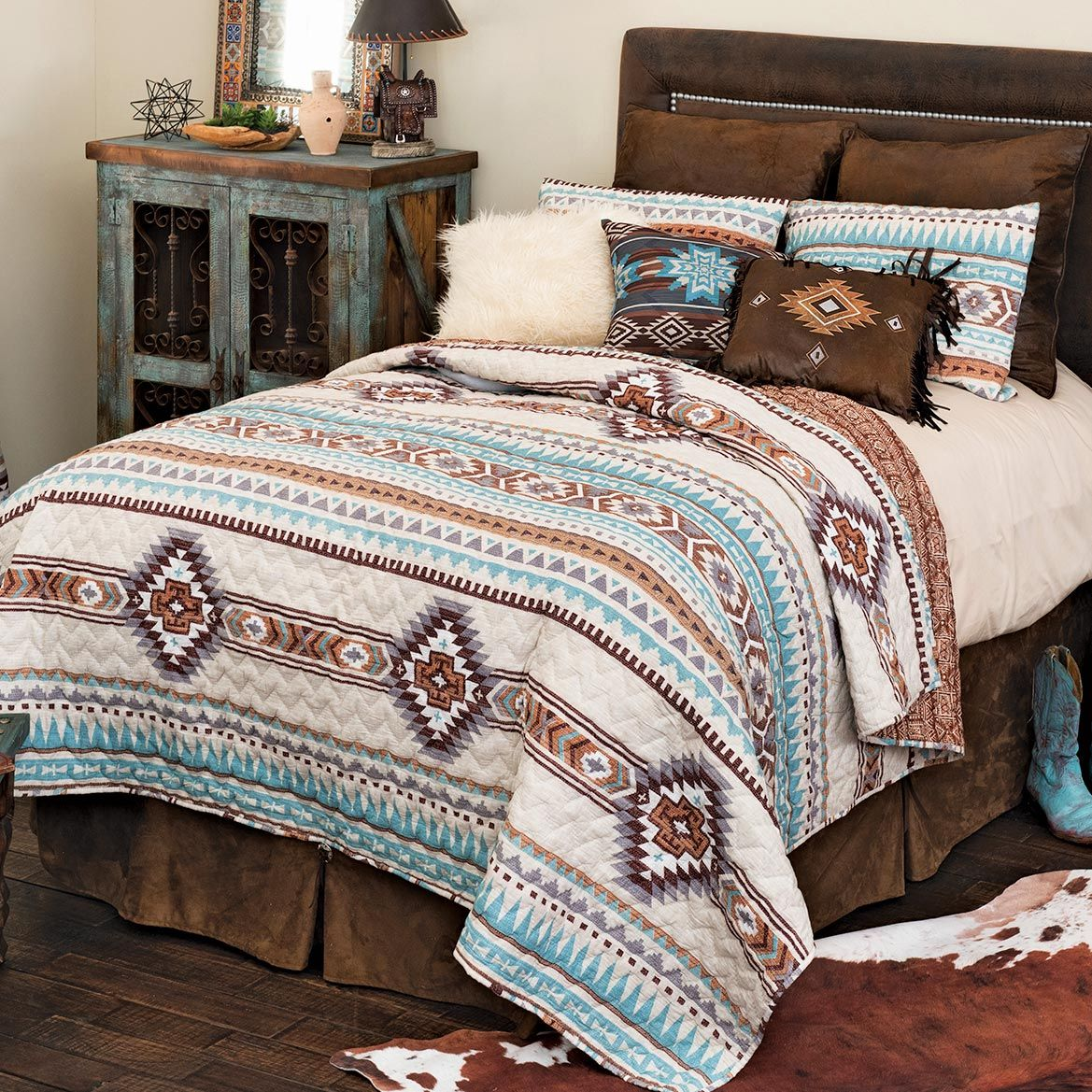 Glacier Canyon Quilt Set - King