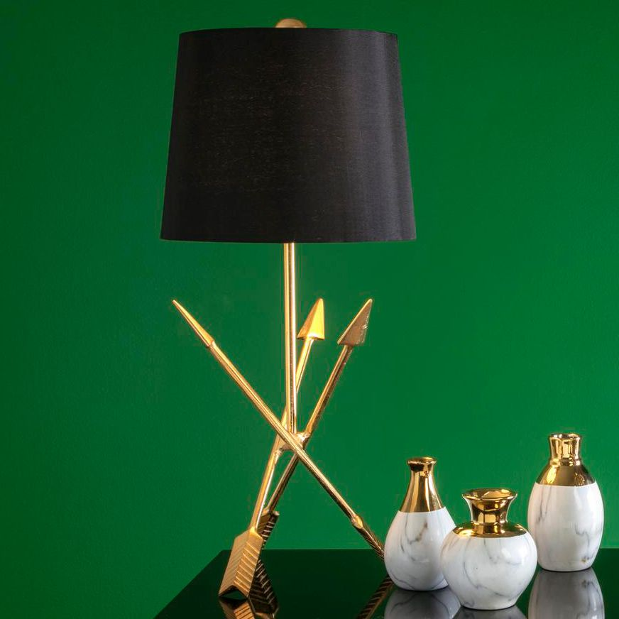 Golden Arrow Table Lamp
