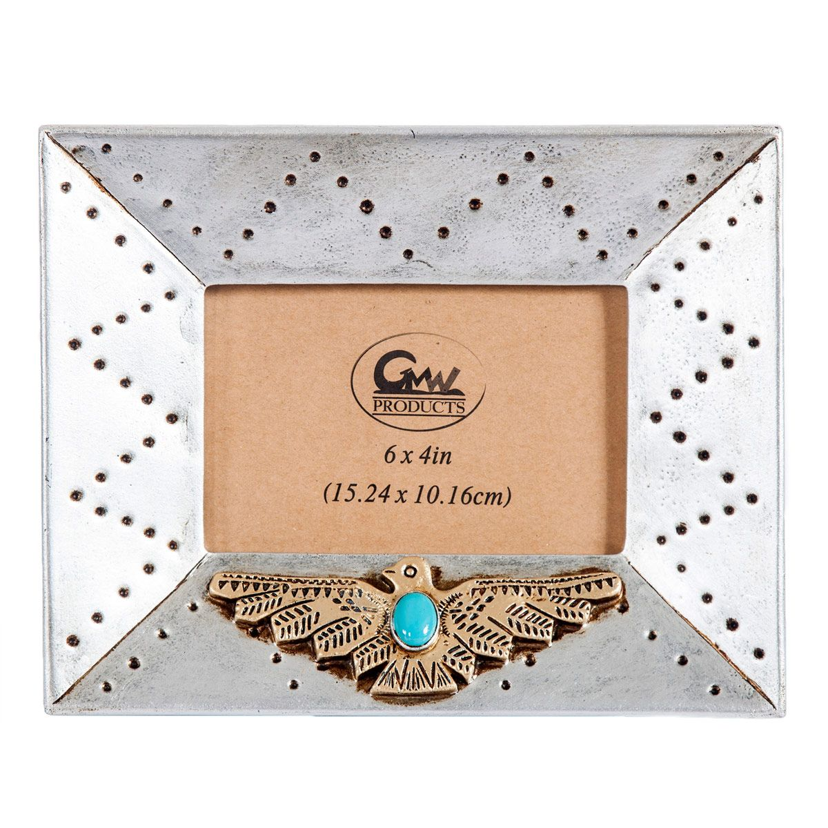 Golden Thunderbird 4 x 6 Photo Frame - OUT OF STOCK UNTIL 1/5/2022