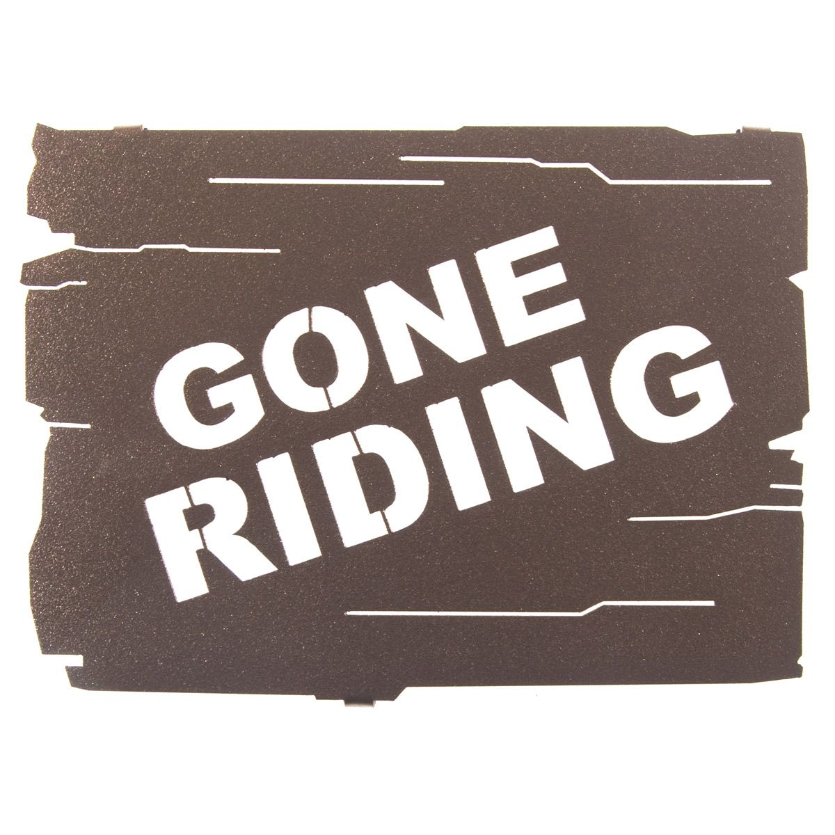 Gone Riding Metal Wall Art