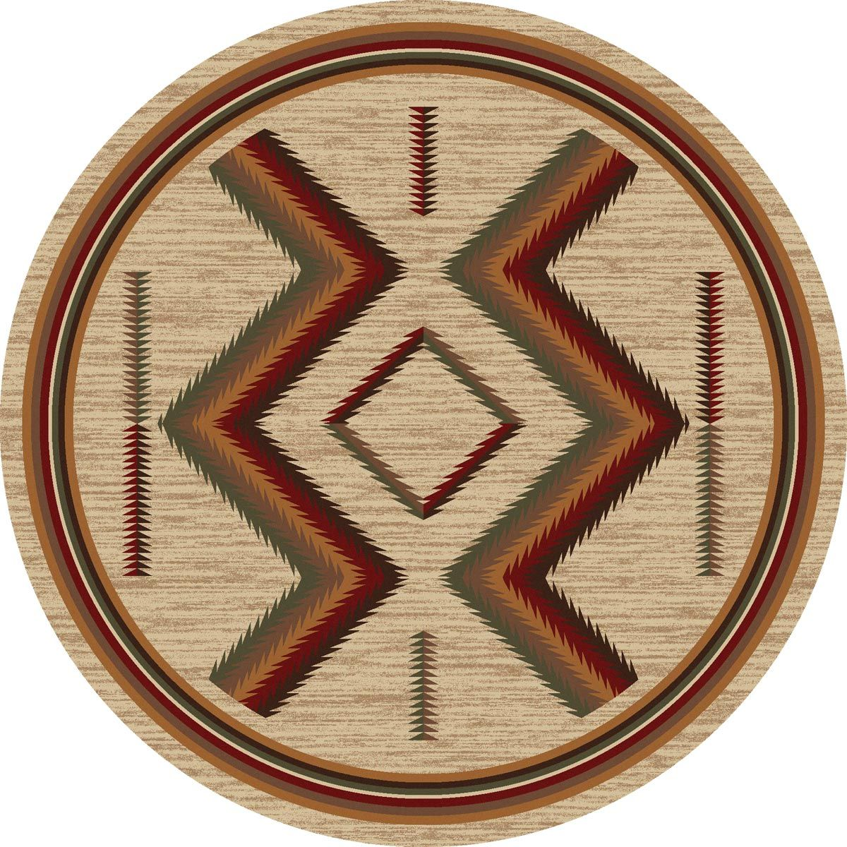 Grand Canyon Sierra Rug - 8 Ft. Round