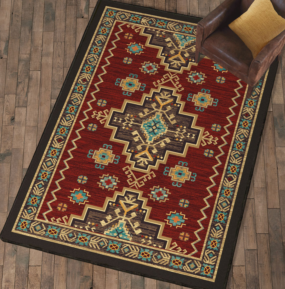 Grand Elegance Southwestern Rug - 8 Ft. Square