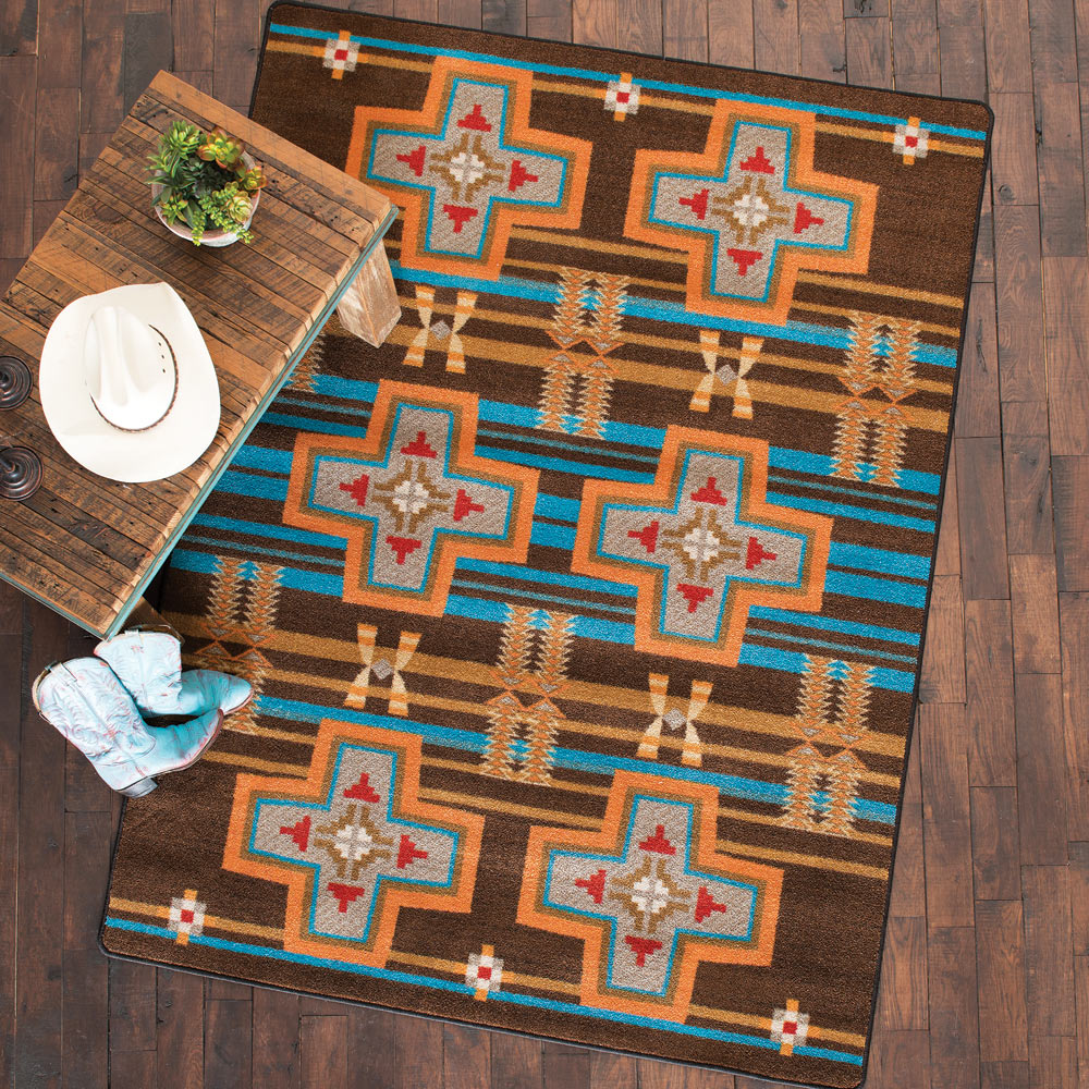 Grand River Desert Rust Rug - 2 x 8