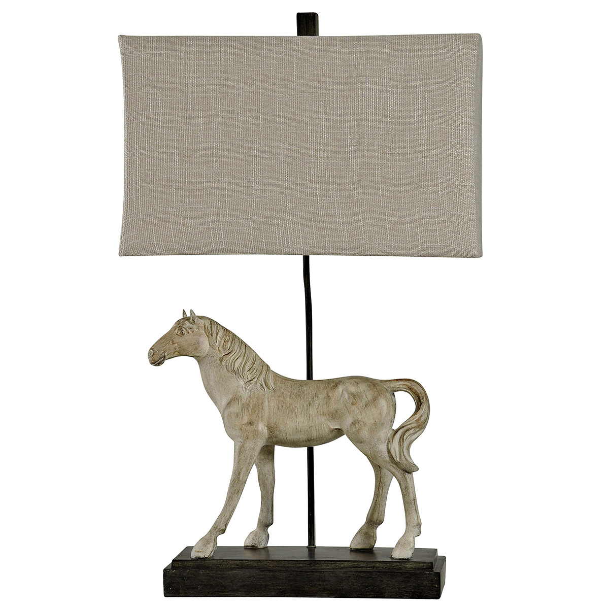 Gray Beauty Table Lamp