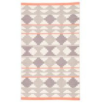 Gray Sawtooth Dance Rug - 5 x 8