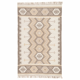 Gray Sawtooth Stripe Indoor/Outdoor Rug Collection