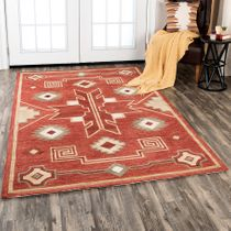 Great Basin Desert Rug - 8 x 11