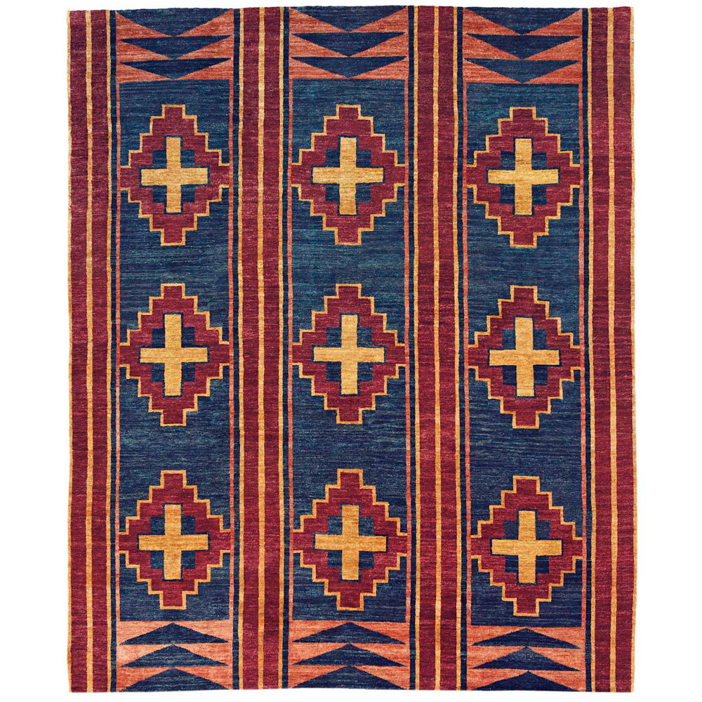 Great Plains Blue Rug - 9 x 12