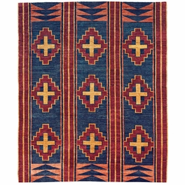 Great Plains Blue Rug Collection