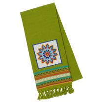 Green Mandala Dishtowel