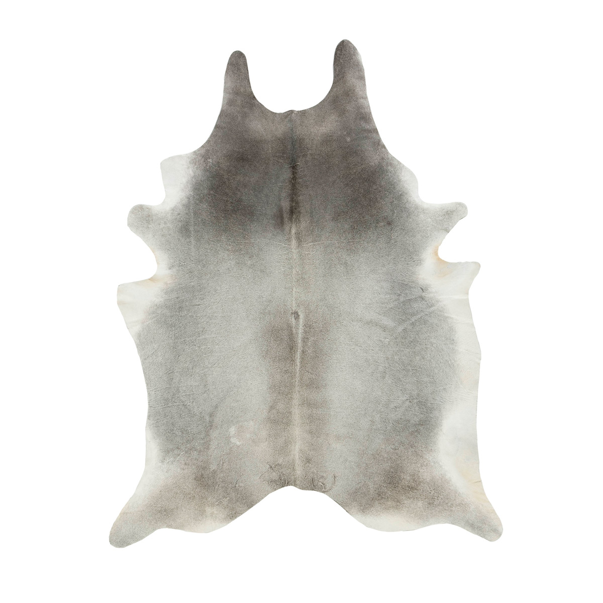 Gris Gray Cowhide Rug - Medium