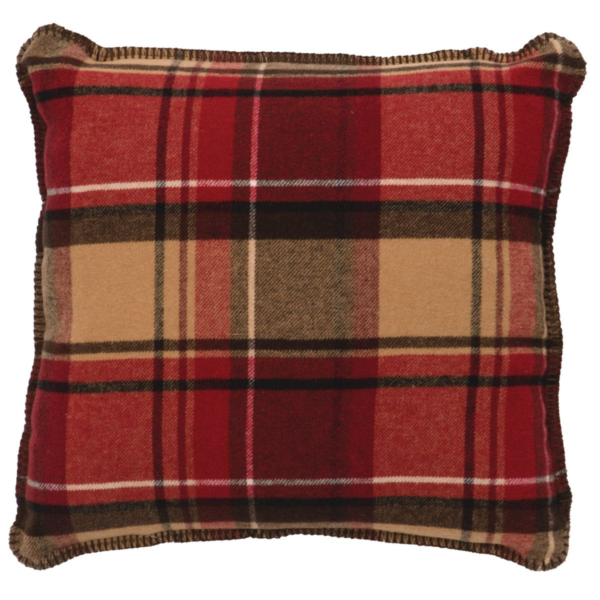 Gunnison Plaid Pillow