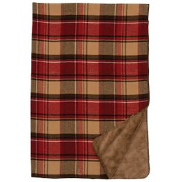Gunnison Plaid Throw