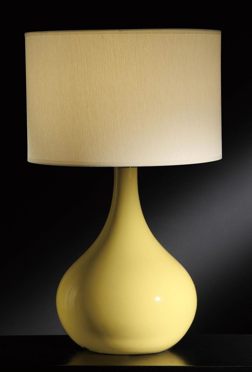 Hacienda Table Lamp - Yellow
