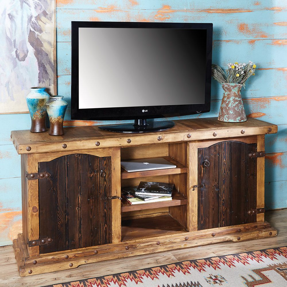 Hacienda TV Console Cabinet