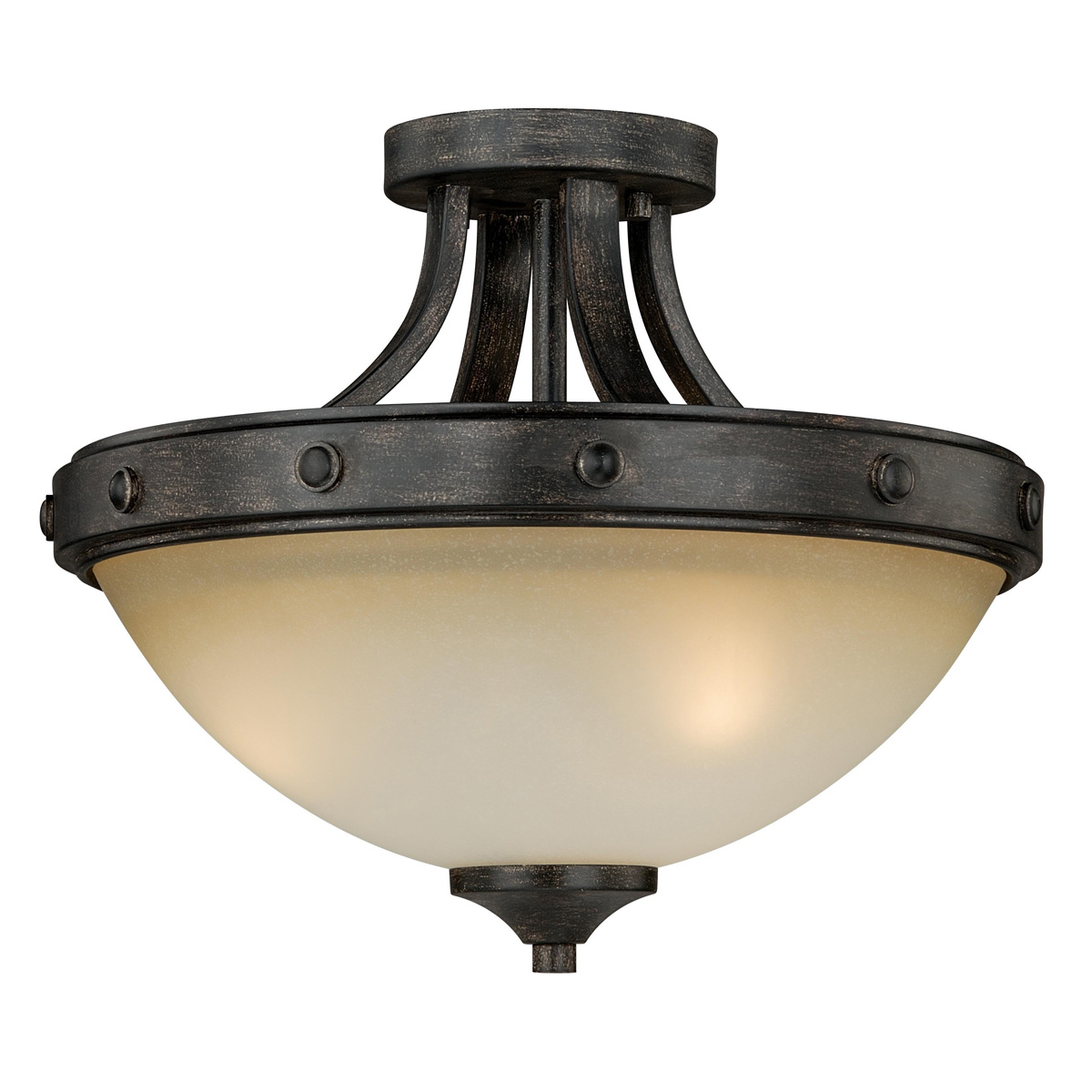 Halifax Semi-Flush Ceiling Light