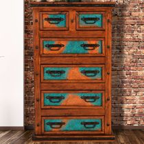 Turquoise Patina Chest