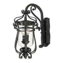 Hartford Outdoor 2 Light Small Wall Bracket