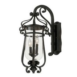 Hartford Outdoor 3 Light Large Wall Bracket