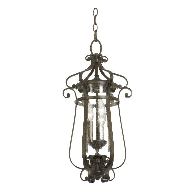 Hartford Outdoor 3 Light Medium Hanging Lantern