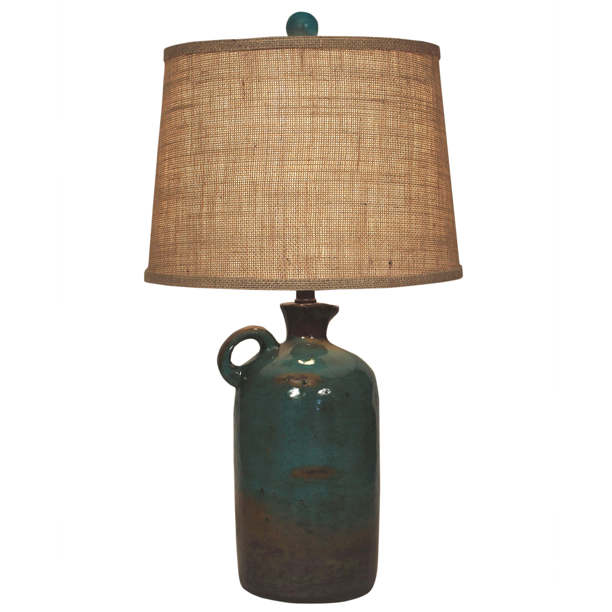 Harvest Handled Jug Table Lamp