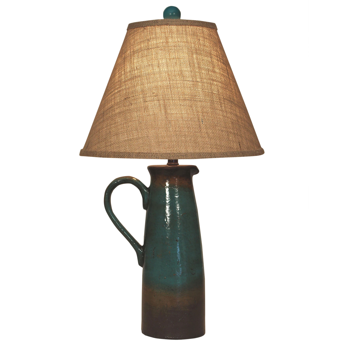 Harvest Handled Pitcher Table Lamp