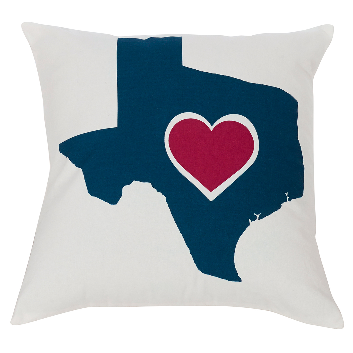 Heart of Texas Accent Pillow