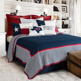 Heart of Texas Quilt Bedding Collection