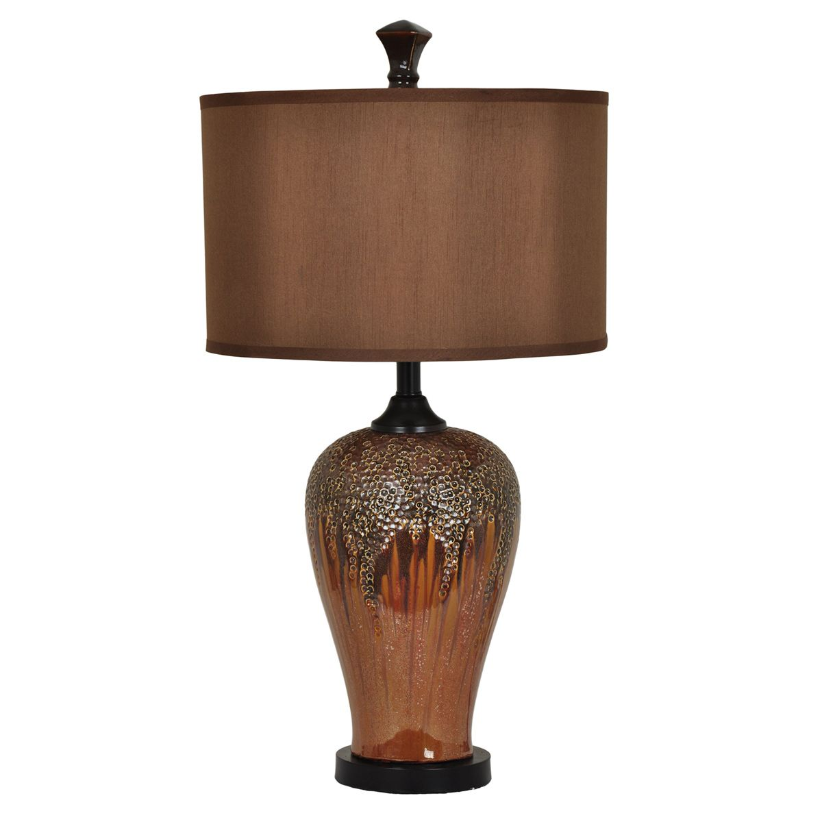 Copper Glow Table Lamp