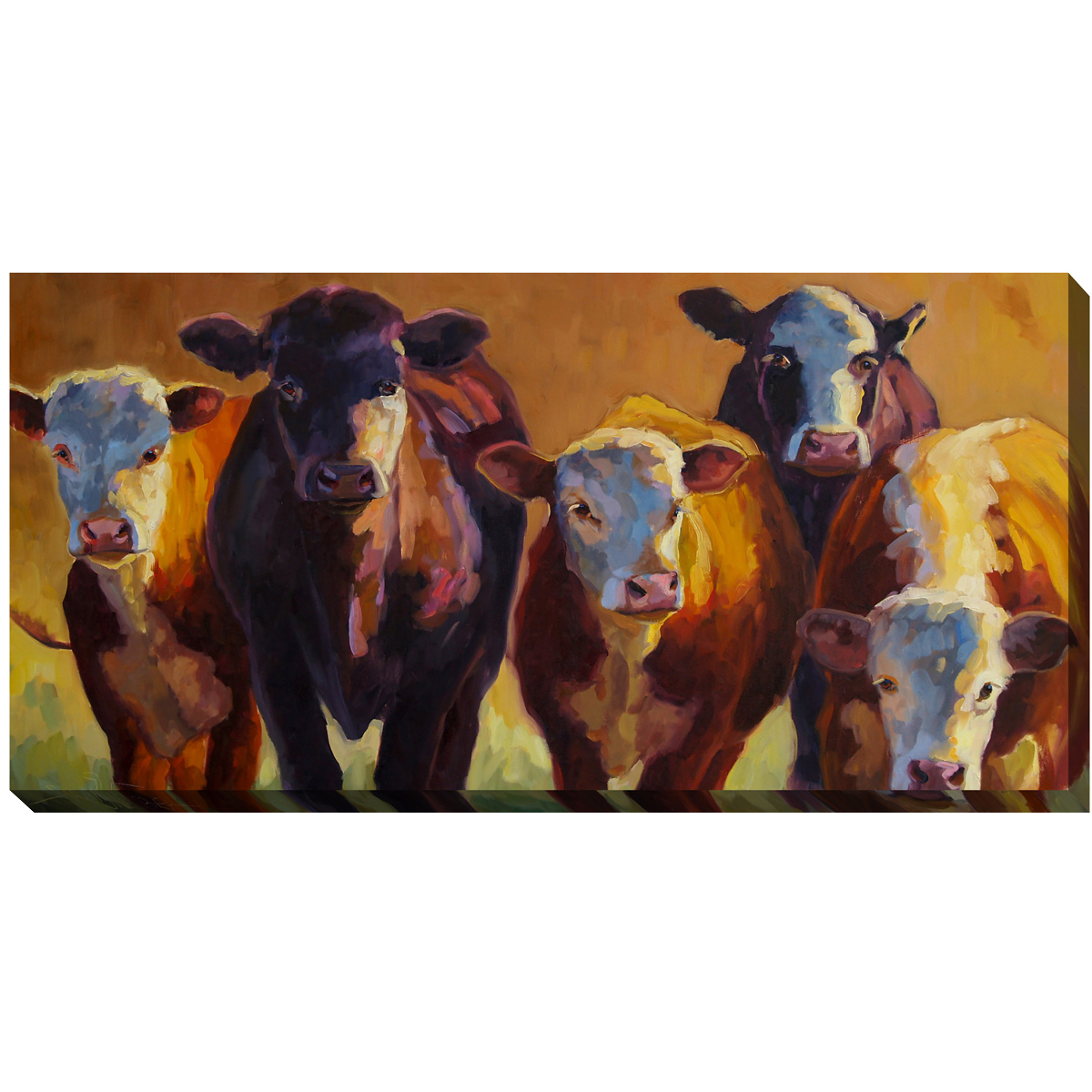 Herd View Outdoor Canvas Art