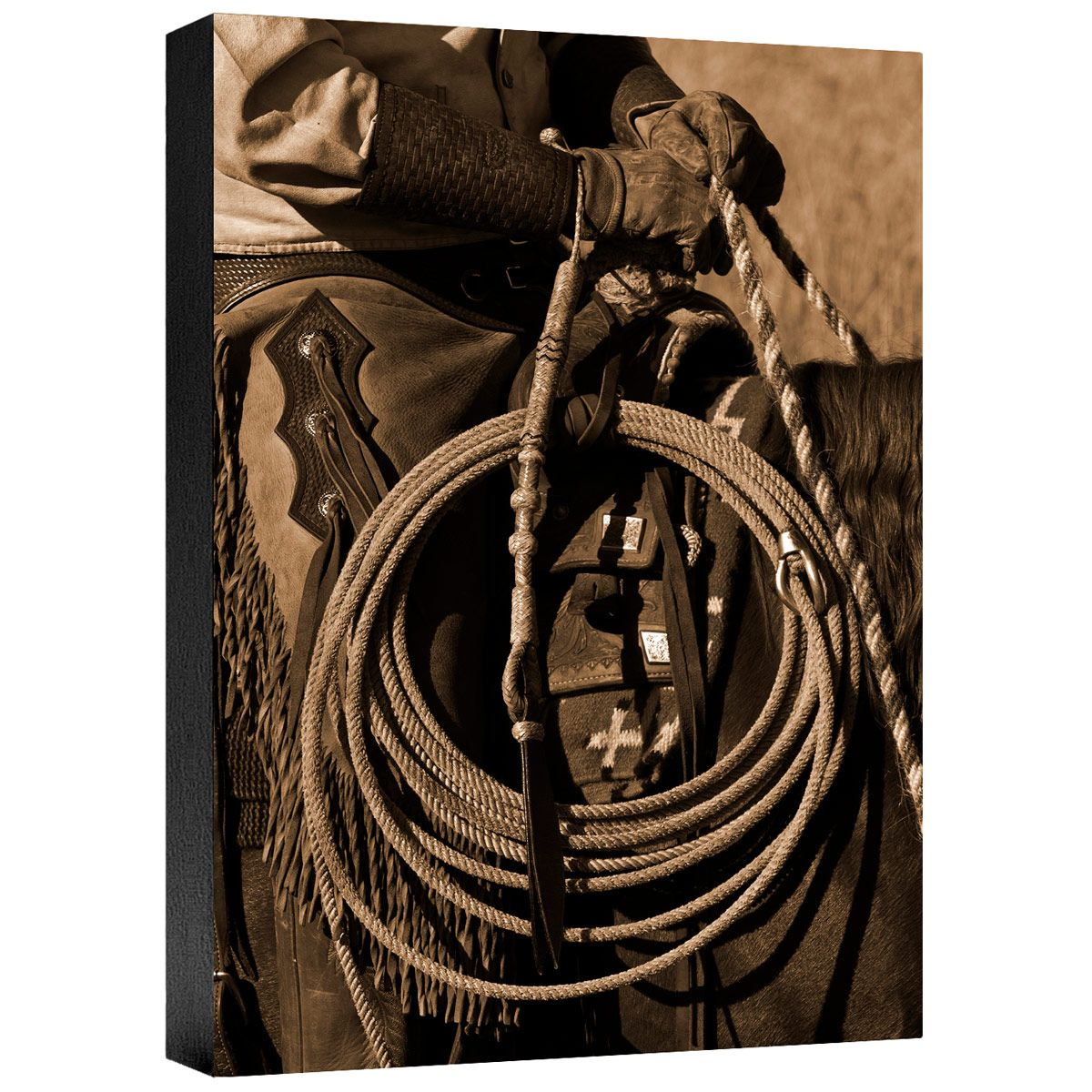 Hired Hand II Gallery Wrapped Canvas
