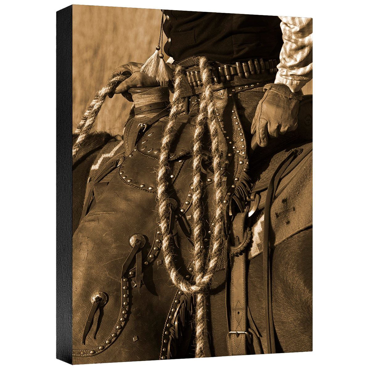 Hired Hand III Gallery Wrapped Canvas