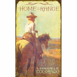 Home on the Range Personalized Signs