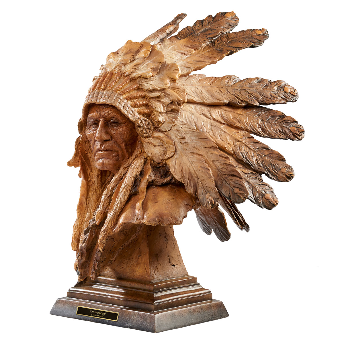 Honored Chief Sculpture