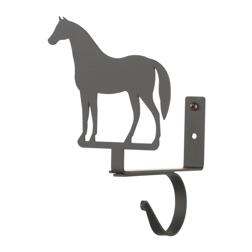 Horse Curtain Shelf Brackets Pair