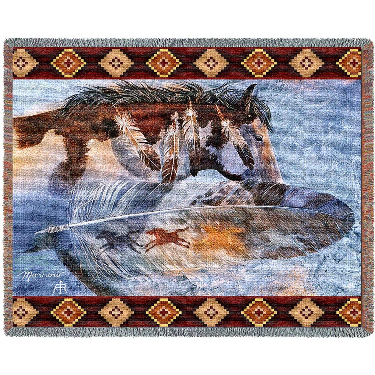 Horse Feathers Blanket