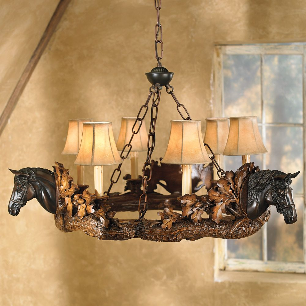 Rustic Western Chandeliers Lighting