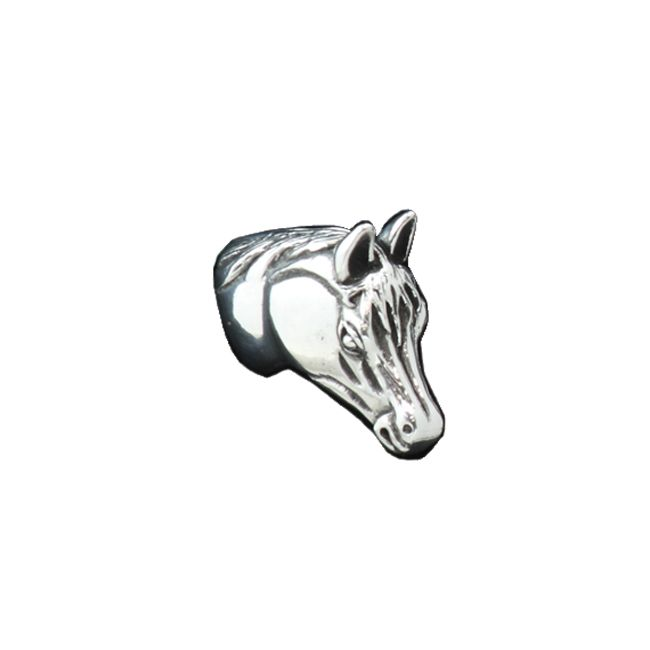 Horse Pewter Cabinet Knob - Small