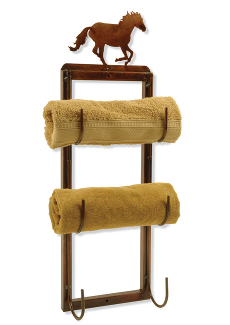 Horse Towel Holder