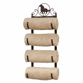 Horse Wall/Door Mount Towel Rack