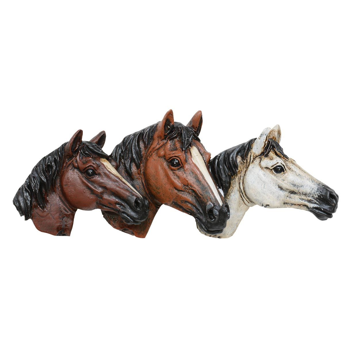 Horsehead Drawer Pulls - Set of 6