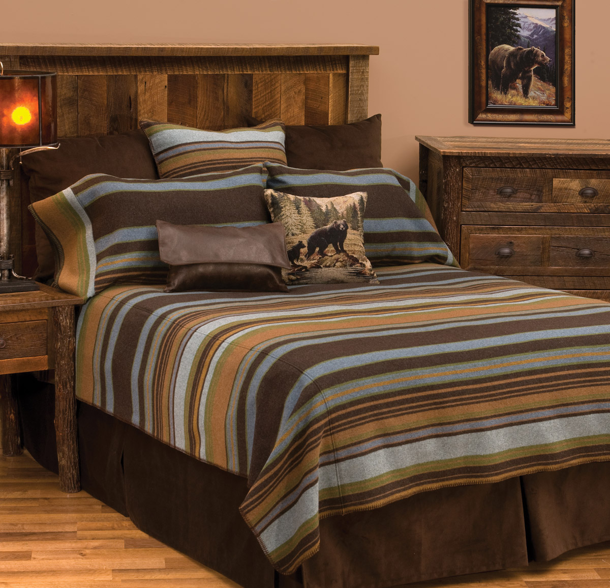 Hudson II Basic Bed Set - Queen