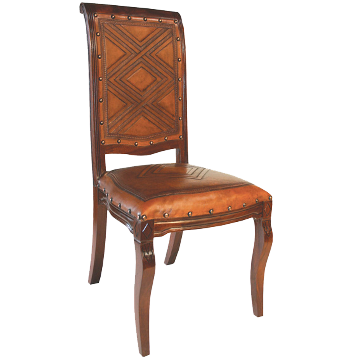 Imperial Chair - Diamond Rustic Brown