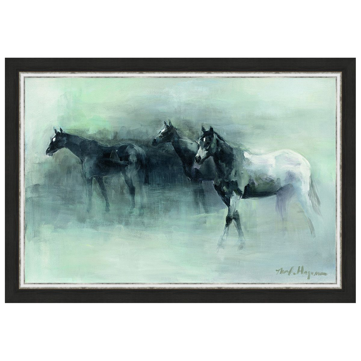 In the Mist Framed Canvas