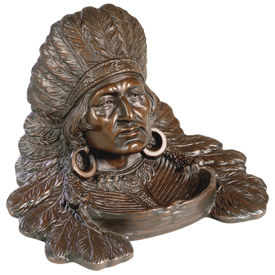 Indian Chief Desk Tray