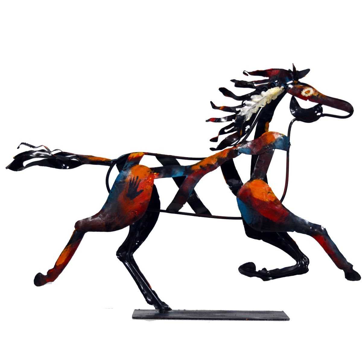 Indian Galloping Horse Sculpture